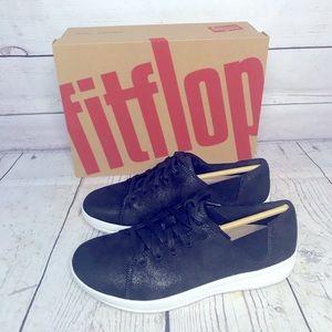 Fitflop Valentia Black Metallic Sneakers